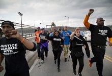Photo of Group Holds March Through N.Y. for Prison Reform