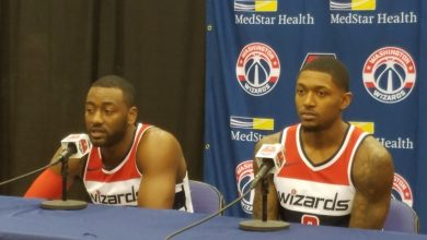 Photo of Wizards' Wall, Beal Address Social Issues on Media Day