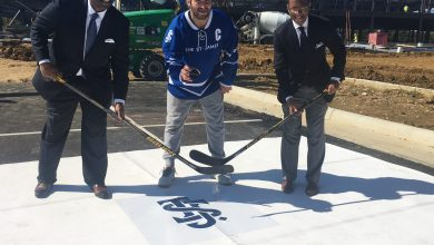Photo of Ovechkin Helps Duo Break Ground on Va. Sports Complex