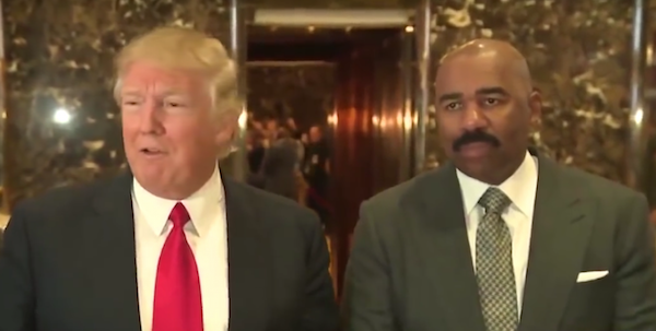 Photo of Steve Harvey Regrets Private Meeting With Trump