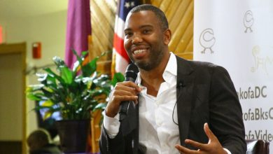 Photo of Ta-Nehisi Coates Talks Obama at Book Launch