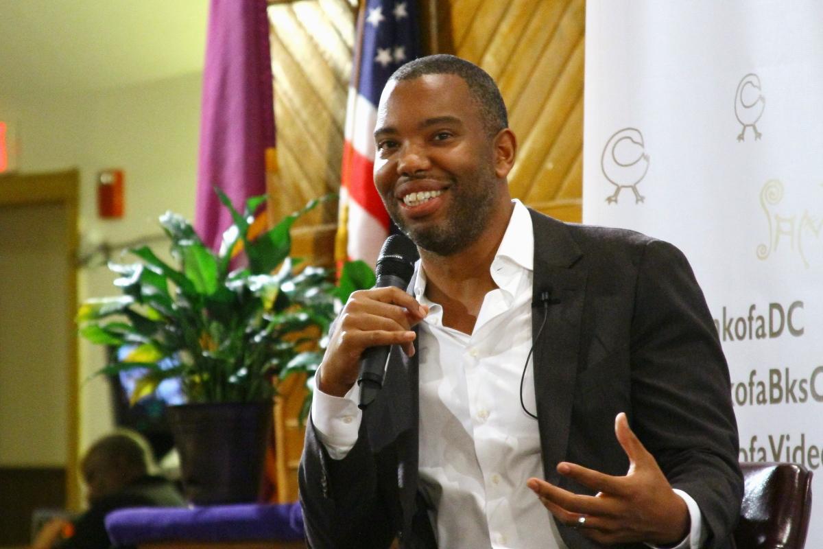 Photo of Ta-Nehisi Coates Talks Obama at Book Launch