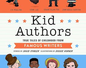 Photo of BOOK REVIEW: 'Kid Authors' by David Stabler, Illustrated by Doogie Horner