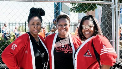 Photo of Sisterhood Upheld at Howard U. Homecoming