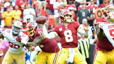 Photo of Redskins Eke Past 49ers