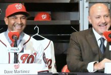 Photo of Nationals Introduce Dave Martinez as New Manager