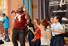 Photo of PRINCE GEORGE'S COUNTY EDUCATION BRIEFS: Redskins Visit