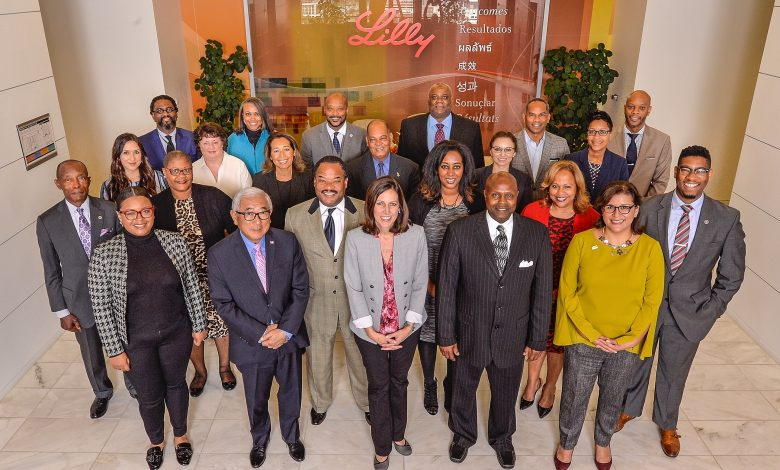 Eli Lilly and Company at corporate headquarters in Indianapolis