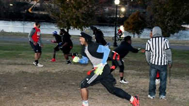Photo of Cops Play Against Anacostia Youth in 'Turkey Bowl'