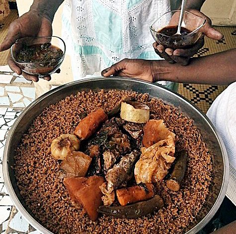 In Nigeria, Ghana, Senegal, the Jollof reigns supreme. (Courtesy of okayafrica.com)