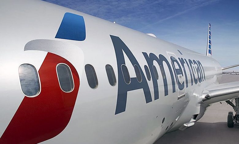 An American Airlines plane (Courtesy of Skift)
