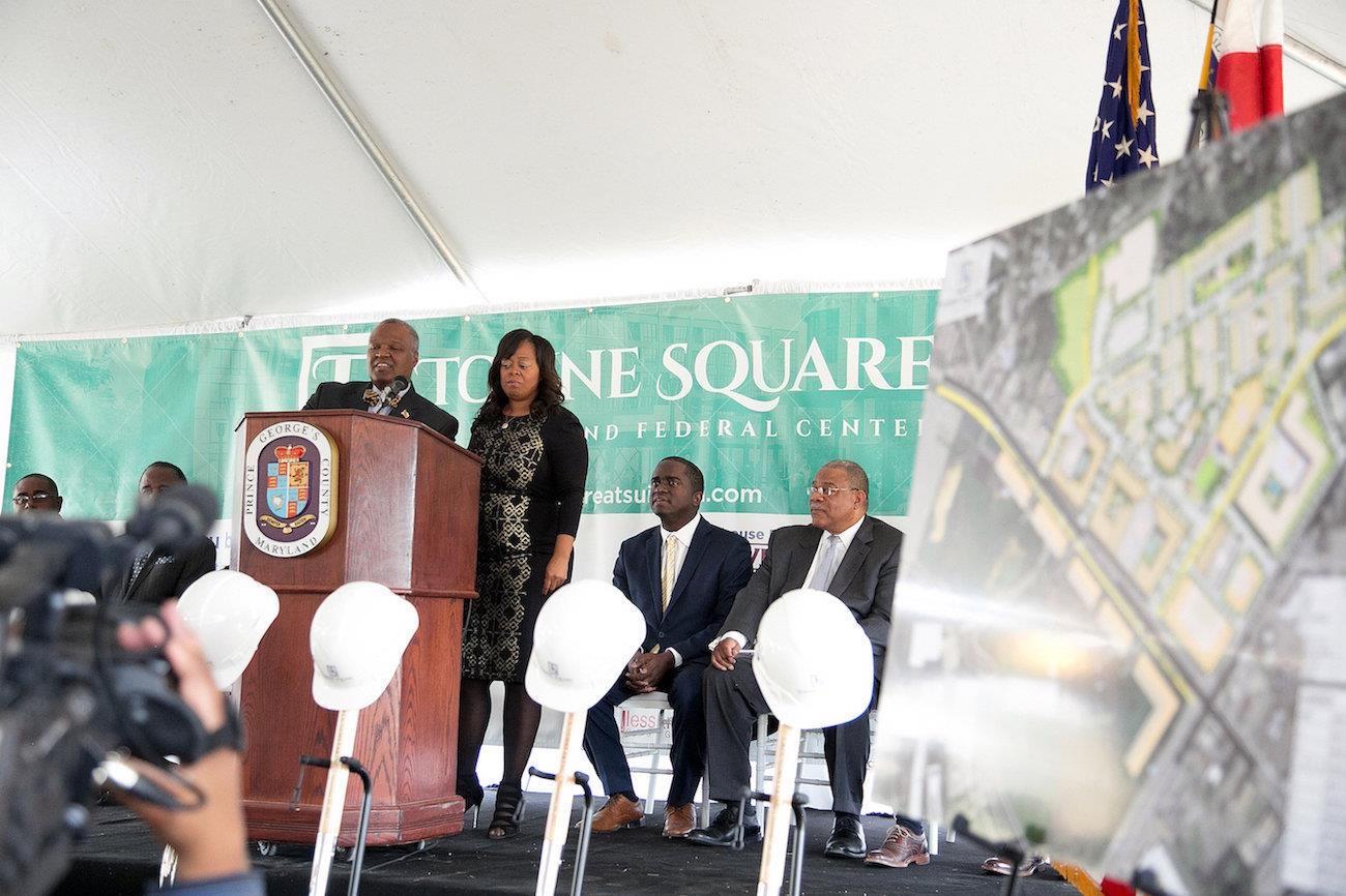 Photo of Residents, Officials Praise New Suitland Project