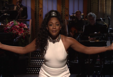 Photo of Tiffany Haddish First Black Female Comic to Host 'SNL'