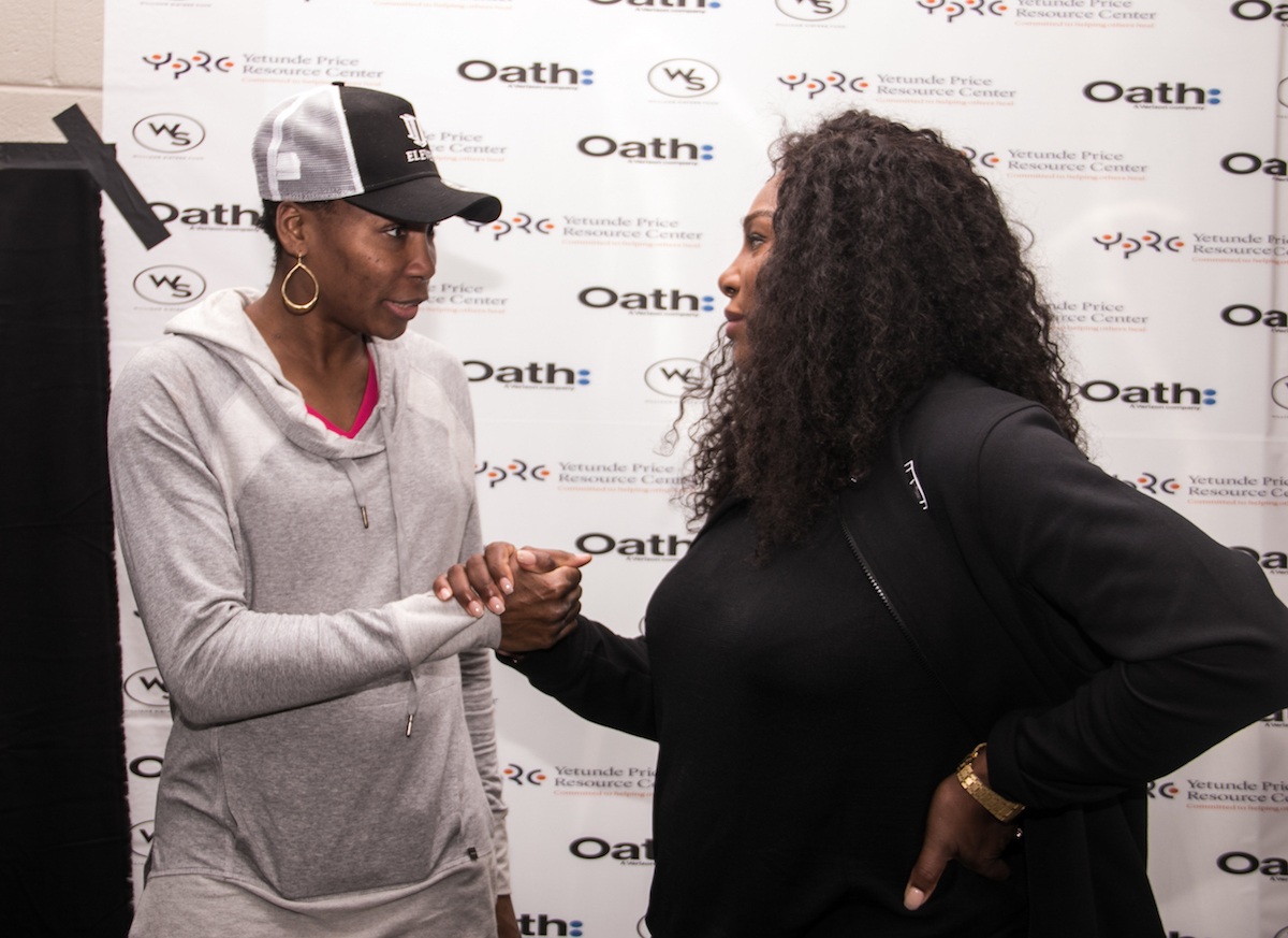 Photo of Venus and Serena Williams Visit D.C. for Forum on Domestic Violence