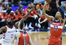 Photo of Wizards Blast Slumping Rockets