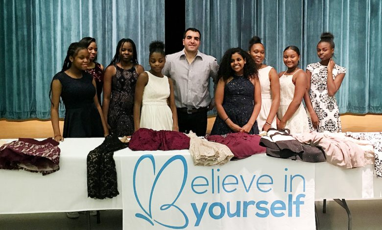 Fashion mogul Sam Sisakhti is giving dresses to young girls. (Courtesy photo)