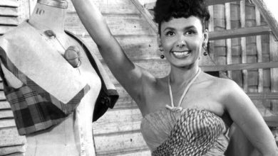 Photo of Lena Horne Honored by Postal Service in Black Heritage Stamp Series