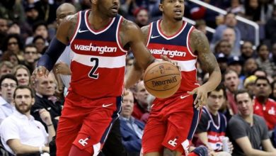 Photo of Wall, Beal Lead Wizards Past Magic