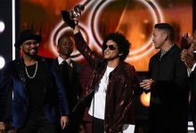 Photo of Bruno Mars Cleans Up at 2018 Grammys