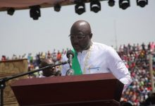 Photo of Weah Sworn in as President of Liberia