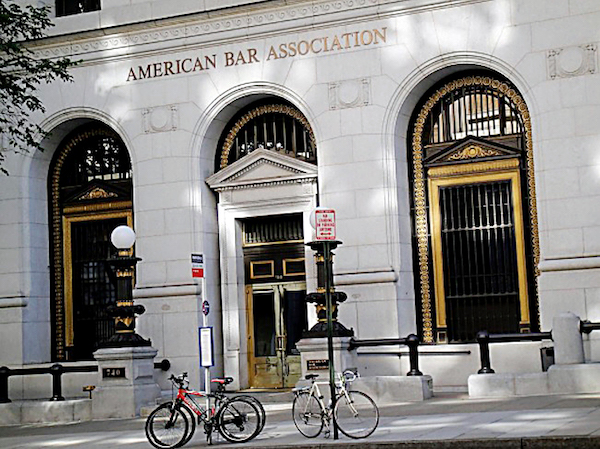 The D.C. headquarters for the American Bar Association (Courtesy photo)