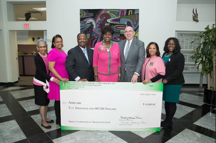 Photo of AFRICA NOW: Sorority Honors Nonprofit for Africa Support