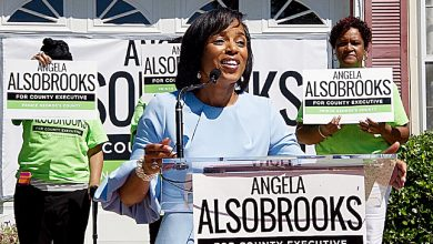 Photo of Alsobrooks Leads in Fundraising for County Executive Race