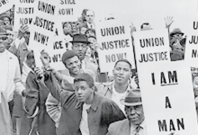 Photo of Memphis 1968 Sanitation Workers Honored by NAACP