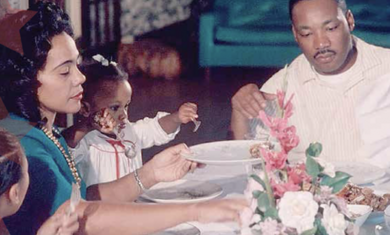 Despite his civic activism that took him both across the U.S. and around the world, Dr. Martin Luther King Jr. made it a priority to share special time with his family. (Courtesy photo)