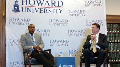 Photo of Ex-FBI Chief Comey Leads HU Lecture on Race, Law Enforcement