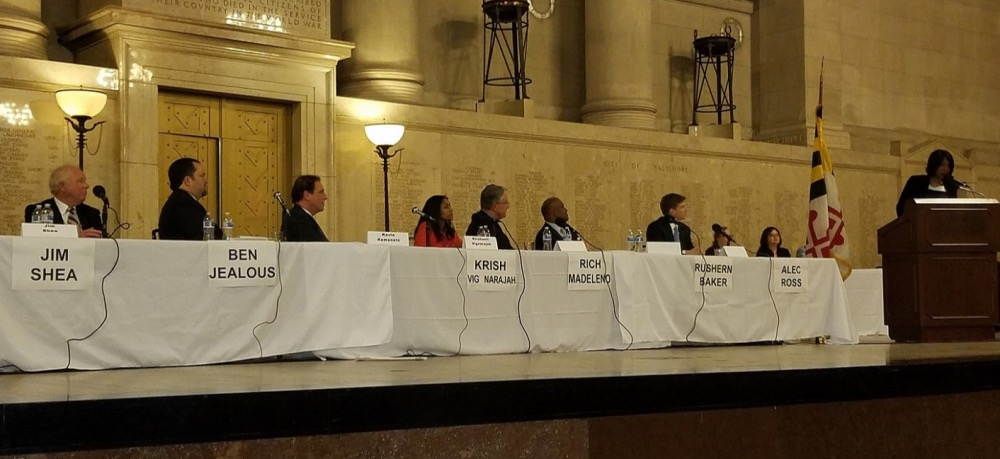 Photo of Dems Rally Behind Common Cause at Md. Gubernatorial Candidates Forum