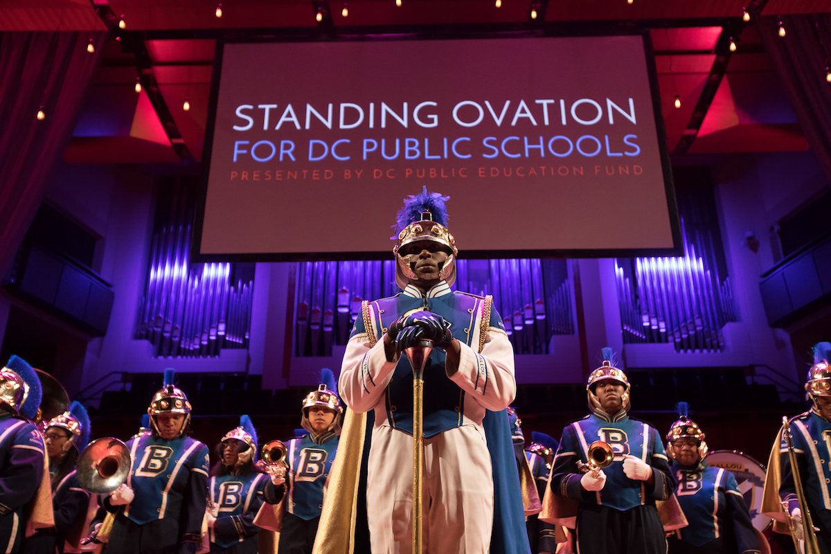 Each year since 2010, the Standing Ovation Excellence Awards have honored DCPS staff and their commitment toward student success. (Courtesy of the DC Education Fund)