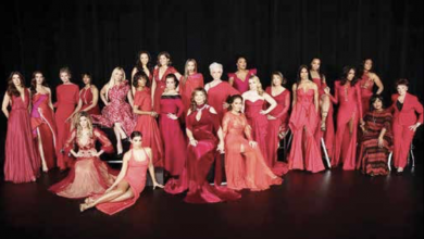 Photo of 'Go Red For Women' Promotes Heart Disease Awareness