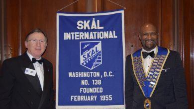 Photo of Hayes Takes Reins at Skal Club of Washington