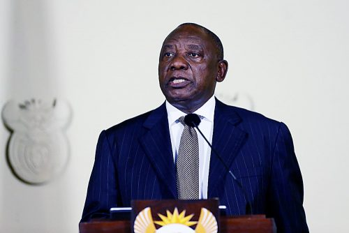 Photo of South African Leader Sees End to Racism and Bigotry