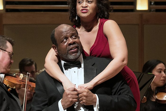 "Kevin Deas and Marlissa Hudson star in ""Porgy and Bess."" (Courtesy of Strathmore)"