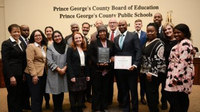 Photo of PRINCE GEORGE'S COUNTY EDUCATION BRIEFS: Schools Honored for Health Initiative