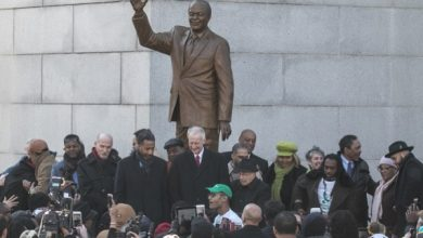 Photo of Marion Barry Statue Unveiled in D.C.