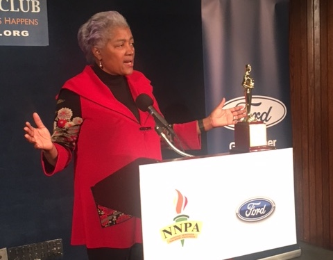 Photo of Donna Brazile: Black Press at Forefront of Change