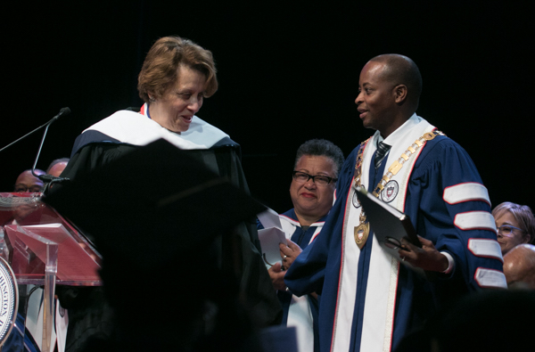 Photo of Convocation Speaker Reflects on Howard U.'s Promise and Protest