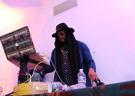 DJ Underdog performs for the crowd. (Brigette White/The Washington Informer)