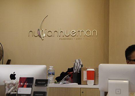 The Nubian Hueman boutique at the Black Love Fest. (Brigette White/The Washington Informer)