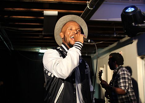 International artist Tabi Bonney performs at the Black Love Fest. (Brigette White/The Washington Informer)