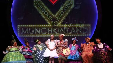 """Dorothy and the Munchkins celebrate during """"The Wiz."""" (Courtesy of Ford's Theatre)"""