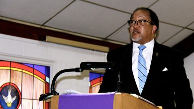 Photo of Chavis Talks 'Freedom Movement,' Black Press at Twelfth Street Christian Church