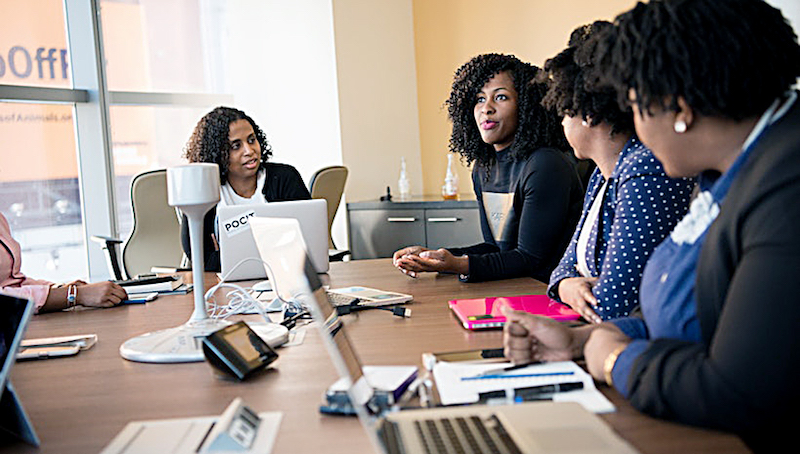 D.C. topped all in the category of highest median earnings for female workers. (Photo by Mogul)