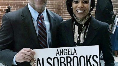 Photo of Brown Endorses Alsobrooks for Prince George's Executive
