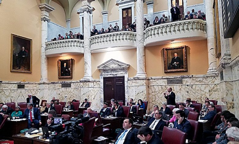 The Maryland Senate reviewed and approved dozens of bills on April 9, the last of the 2018 General Assembly. (William J. Ford/The Washington Informer)