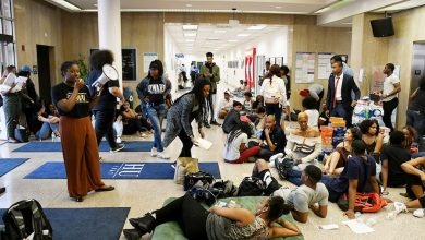 Photo of HU Students Occupy Campus Building Amid Financial Aid Scandal