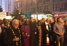 Photo of Royal Wedding Bishop Curry Leads Protest March to White House